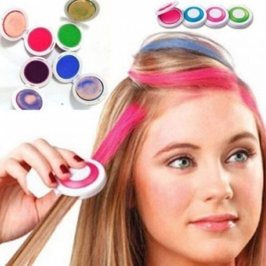 4pc Non-toxic Temporary Hair Chalk